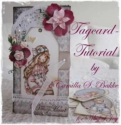 Cards by Camilla: Tagcard tutorial