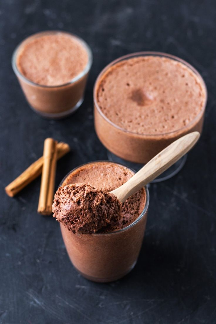 Easy Vegan Aquafaba Chocolate Mousse - This Vibrant World