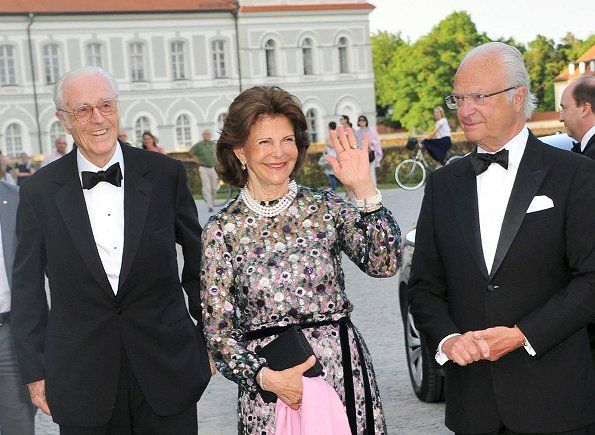 Queen Silvia Attended Celebration Of 80th Birthday Of Prince Max Queen Silvia Celebrities Queen Of Sweden