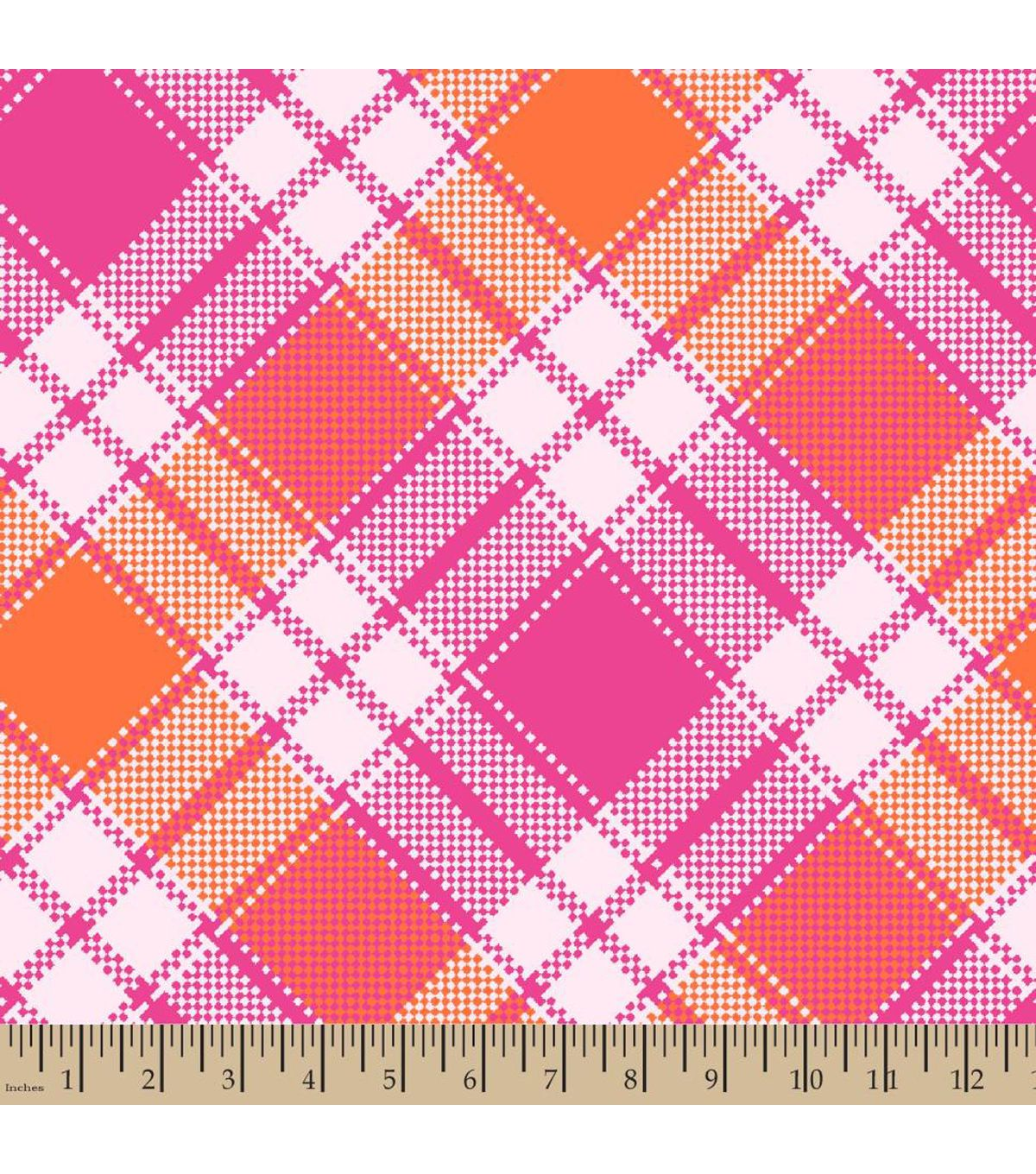 Blizzard fleece fabricpretty in plaid pink plaid fabrics and