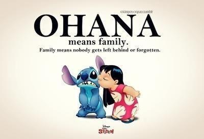 Ohana Significa Familia Y Tu Familia Nunca Te Abandona Ni Te