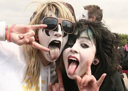 Gene Paul Mens Sunglasses Kiss Makeup Rock Roll
