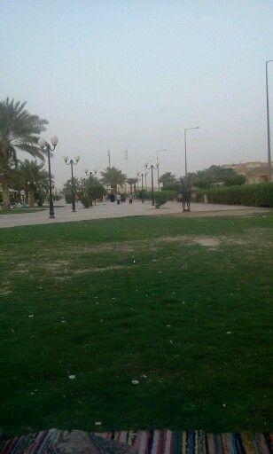 Al Waha Park It S Nice And Huge Park In Riyadh I Like It Beach Outdoor Park