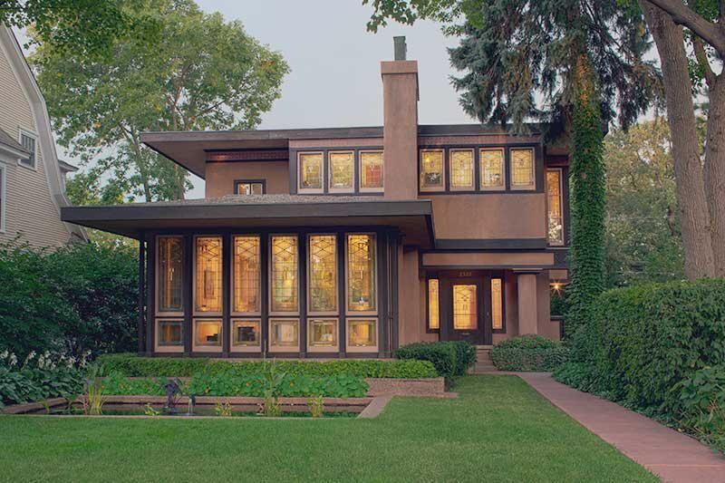 Exterior prairie style architecture praire style homes