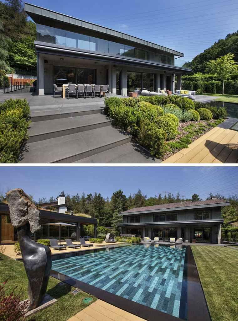 Belle Maison Moderne Avec Piscine En Turquie