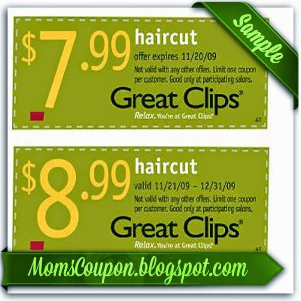 Great Clips 10 off 50 online coupon code February 2015