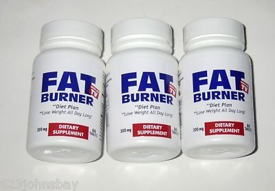 Fat Burner Lose Weight All Day Long As Seen On Tv 3 Pack 180 Tabs