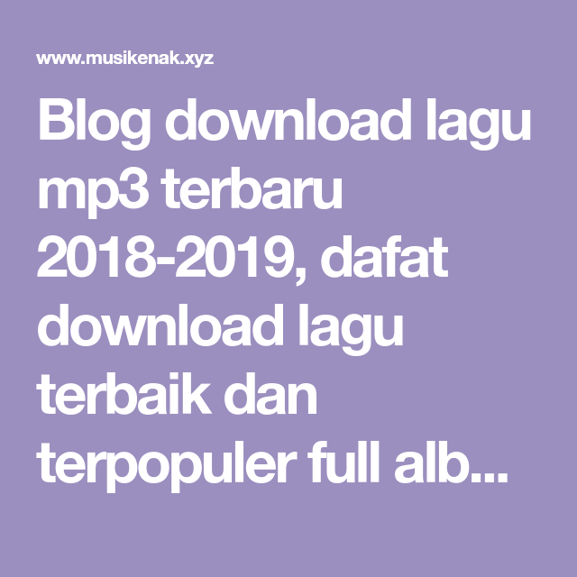 download lagu 123 blogspot