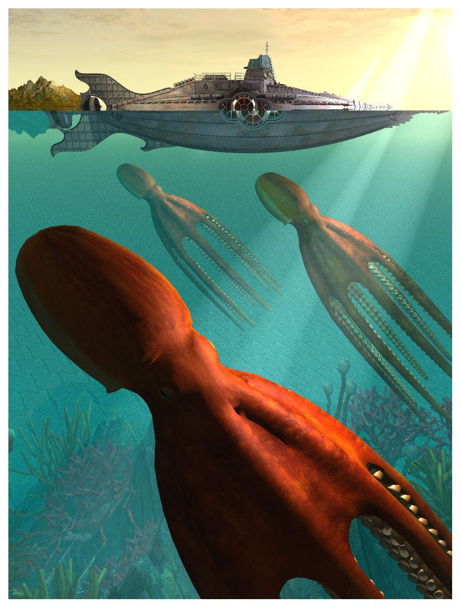 20000 Leagues under the Sea by EhsanA.deviantart.com on @deviantART