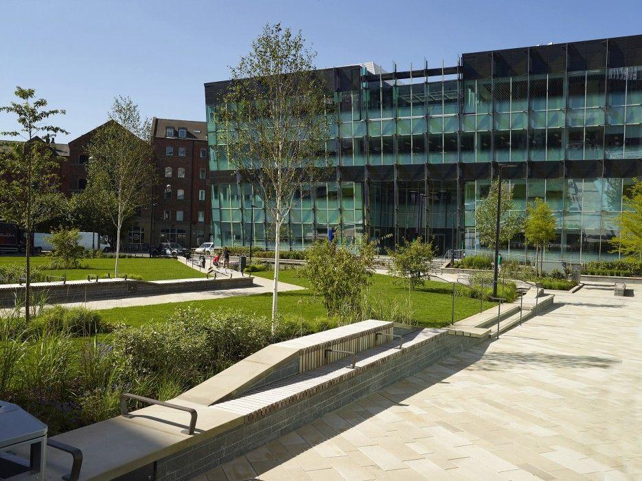 Sovereign Square Leeds Re Form Landscape Architecture Leeds Architektur Design