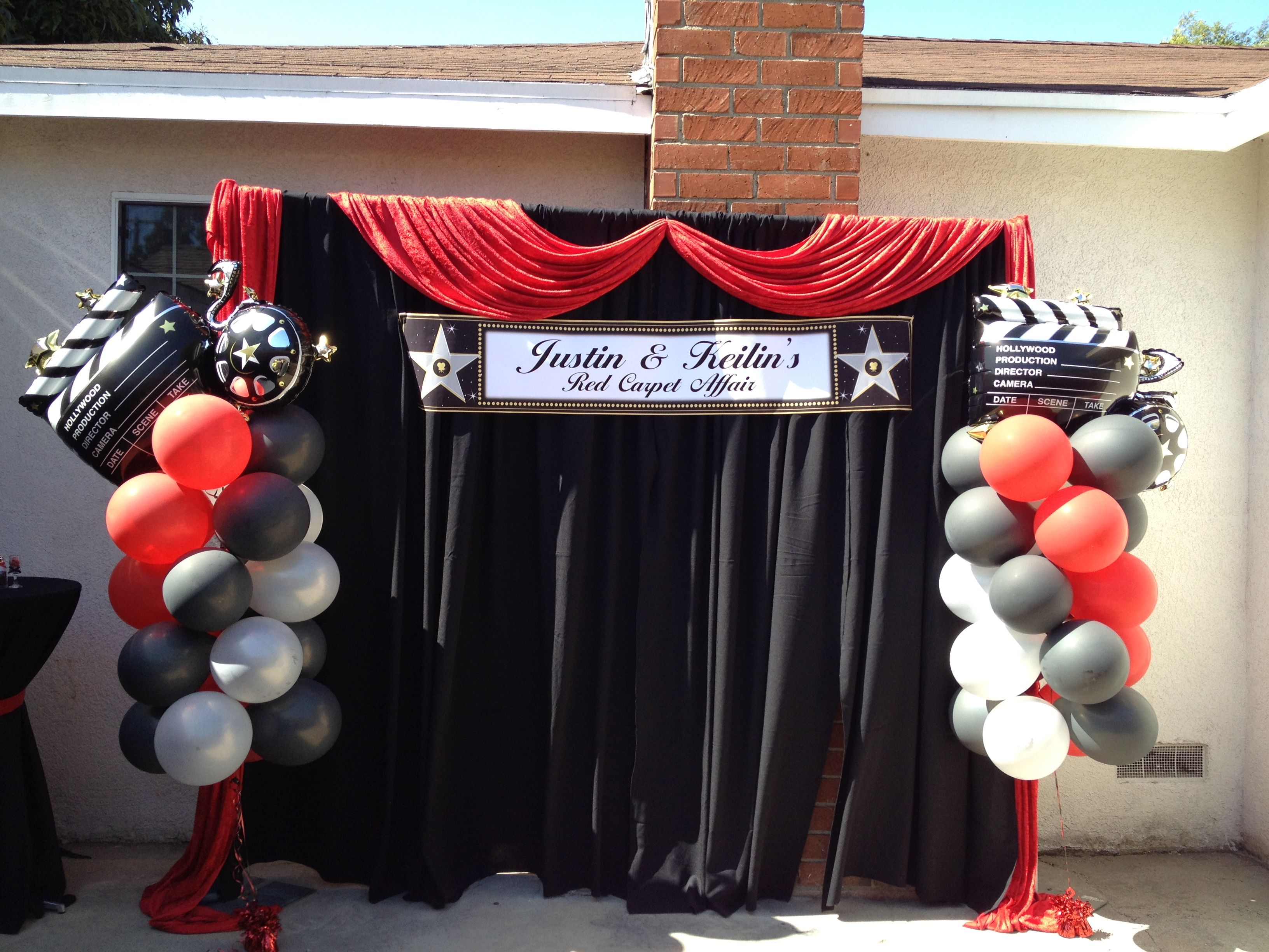 Wedding Reception Seating Ideas besides Beautiful Garden Tent Wedding Doctors House also Red And Black Colors moreover Hollywood Theme Party Invitation Templates as well Great Gatsby Themed Party. on oscar party decorations for tables