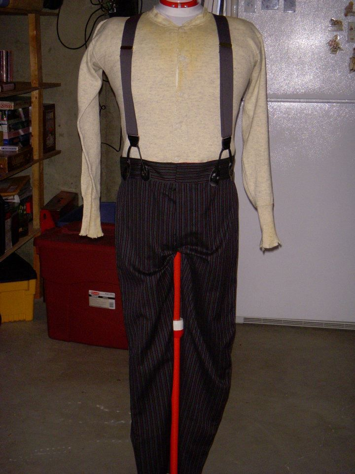 Al Swearengen Distressed Union Suit Freshly Made Pants And