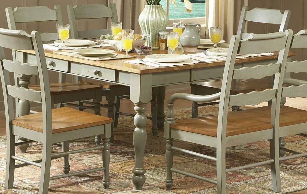 Furniture Stunning Mudhut Andres Distressed Dining Table From The