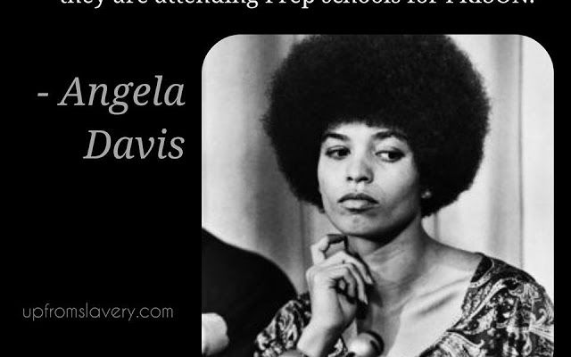 Google+ angela davis on school systems