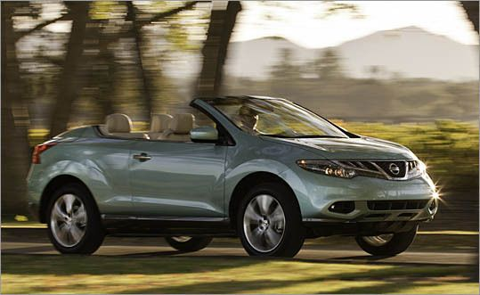 Nissan Murano Cross Cabriolet Convertible