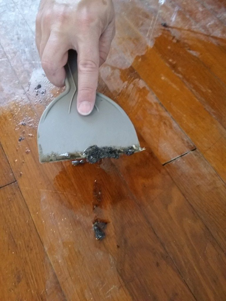How To Remove Adhesive From Old Hardwood Floors The Oil