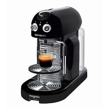 Magimix Nespresso Maestria Black Coffee Pod Machinev 11331