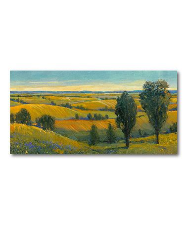 Take a look at this Wine Country Fields III Wall Art by COURTSIDE MARKET