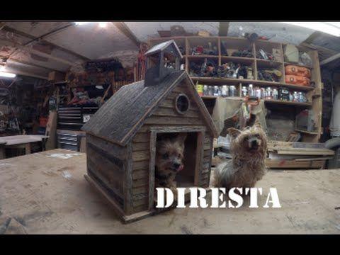 diresta old school dog house - youtube | woodworking | pinterest