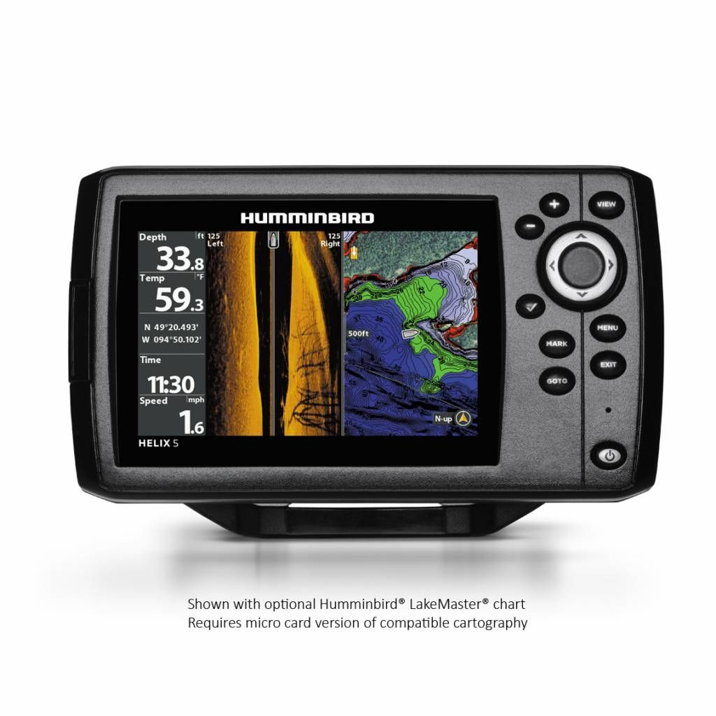 Humminbird Helix 5 CHIRP SI GPS G2, introductie aanbieding!