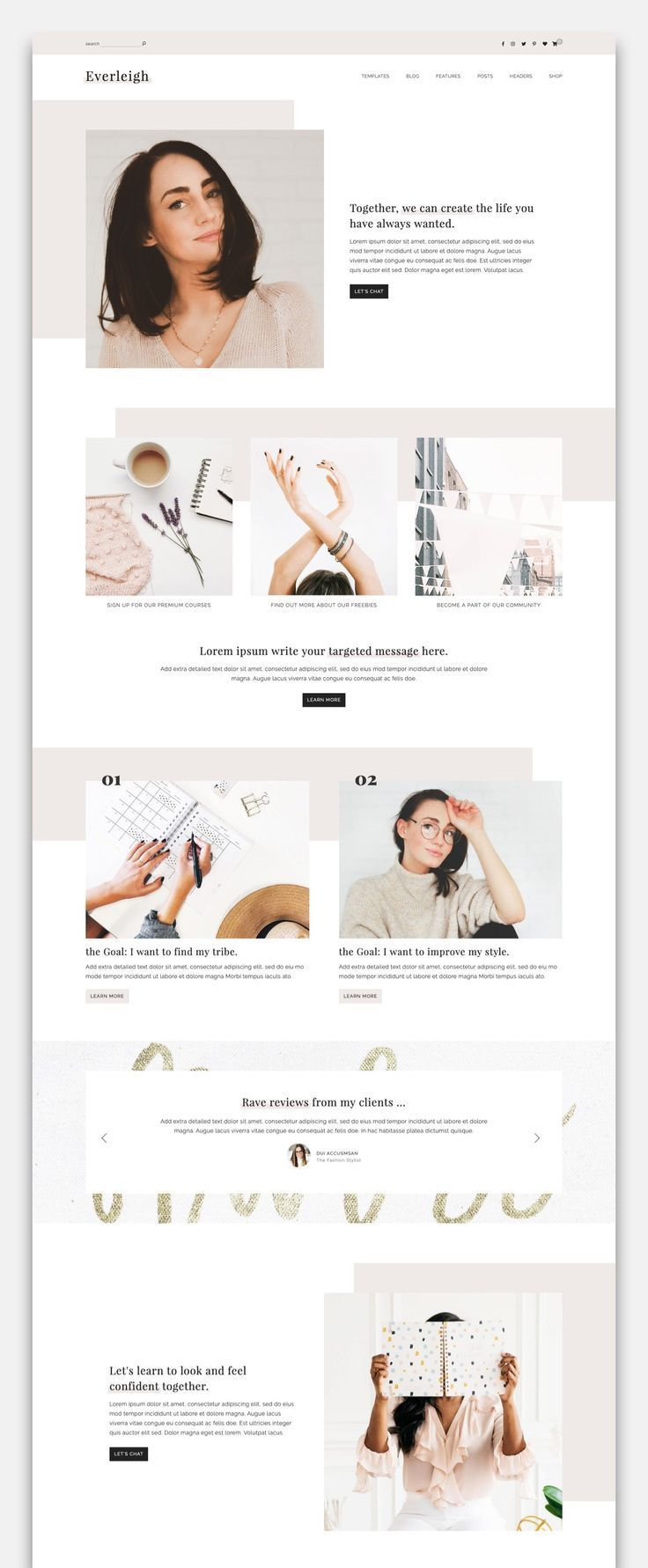 Everleigh - A Blog & Shop Theme
