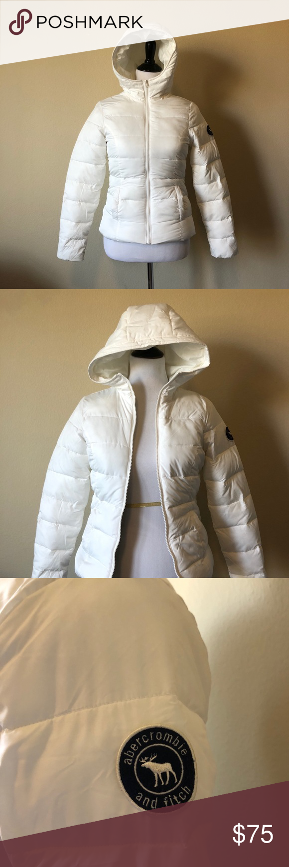 White Puffer Jacket Kids Extra Large Great Condition Abercrombie Kids Jackets Coats Puffers Clothes Design Puffer Jackets Fashion Design [ 1740 x 580 Pixel ]