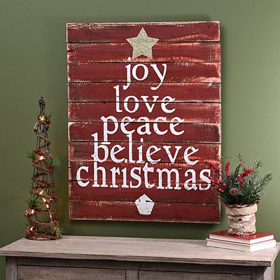 Christmas Tree Word Wood Plaque Christmas Decor Ideas Pinterest