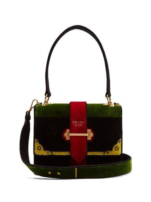 d8216fffcefc PRADA Cartoon Velvet Bag.  prada  bags  shoulder bags  hand bags  velvet   suede  lining