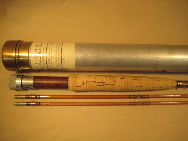 Photo of Inv #MEL07 — Gillum, HS 7'6″ Bamboo Fly Rod « Back to Previously Owned Rods  …