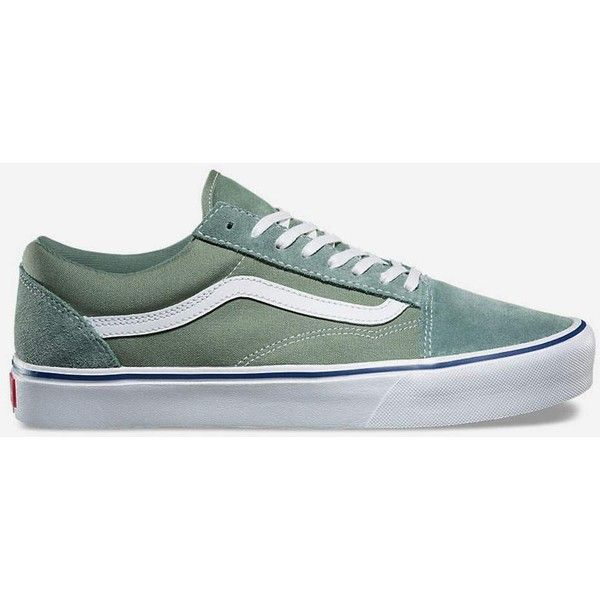 42940d4012 Vans Throwback Old Skool Lite Shoes ( 65) ❤ liked on Polyvore featuring  shoes