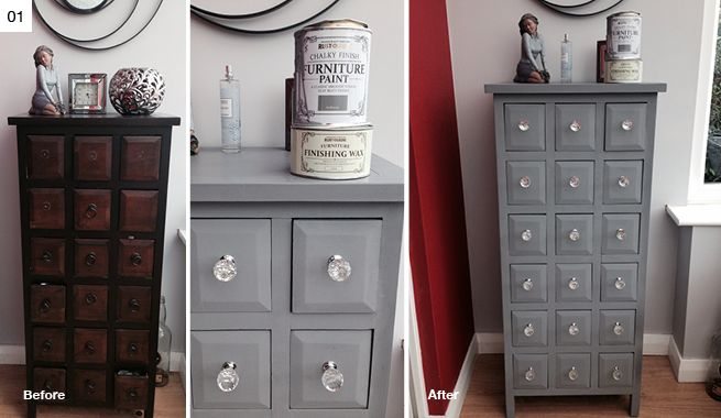 Rocking The Grey Colour Trend Our July 2014 Makeityours Competition Winners Www Makeityours Co Uk Diy Home Furniture Chalk Paint Diy Crafts Paint Diy Crafts