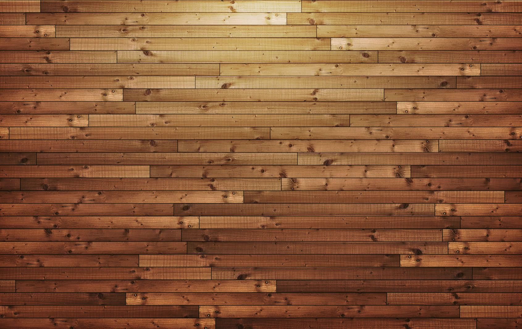 Horizontal Wood Panels Background Light To Dark Brown