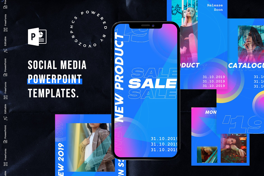 Behance 为您呈现 Instagram Story Template Videohive Optical Flares