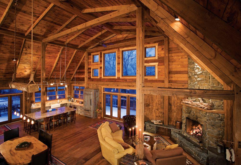 Barn raising a minneapolis familys vacation home on lake