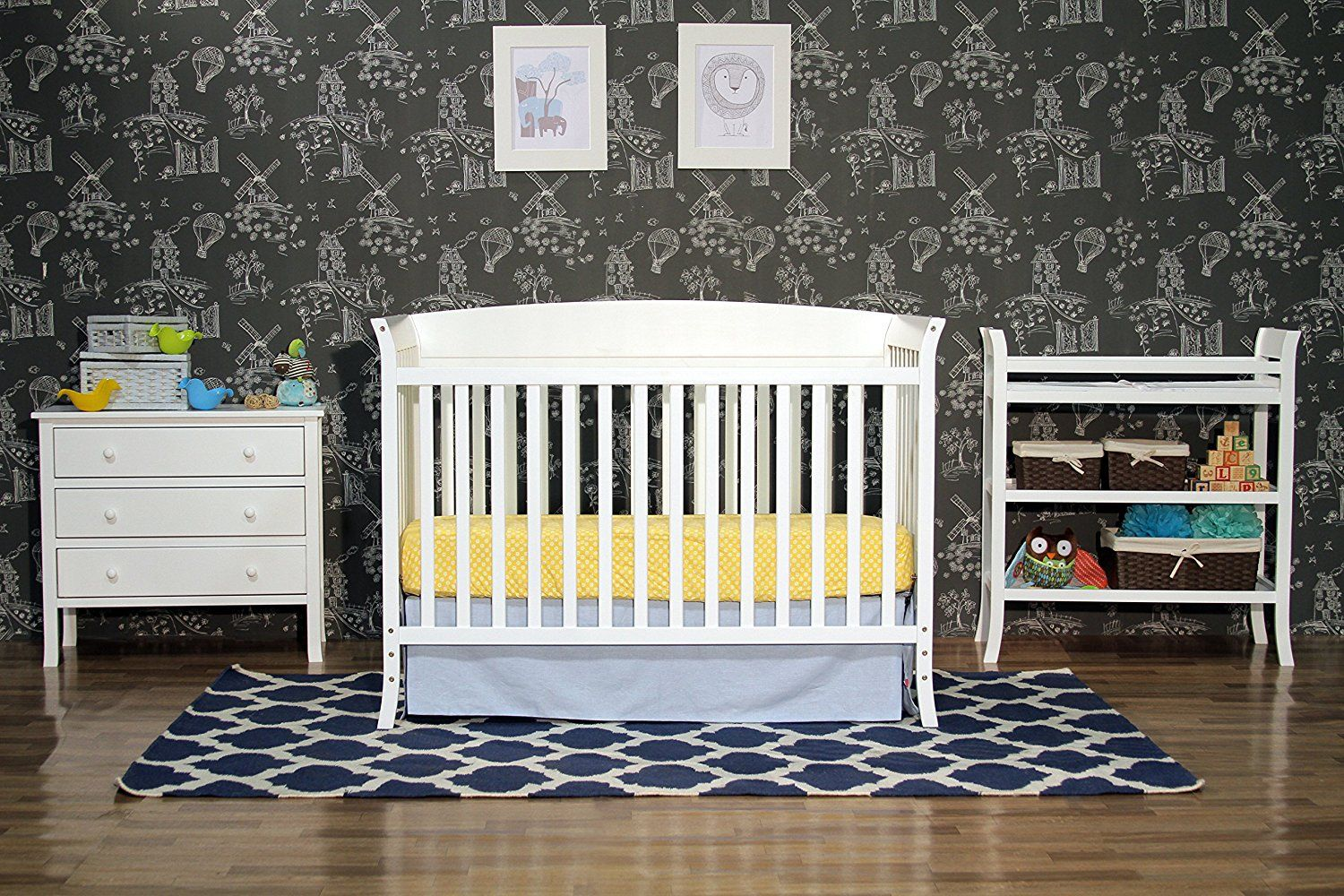 It Is Very Important To Purchase Quality Nursery Furniture Where Your Child Can Comfortably Rest And Play The Davinci Tyler 5 Piece Set White Has