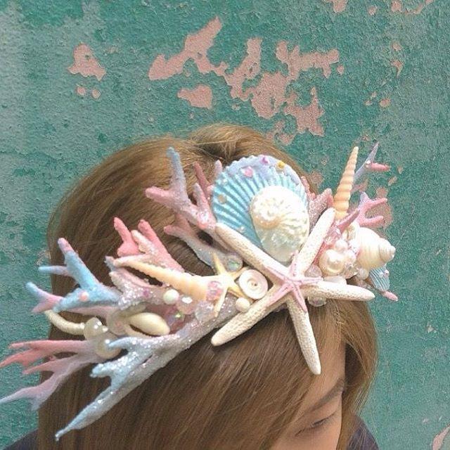 mermaid crown                                                       …