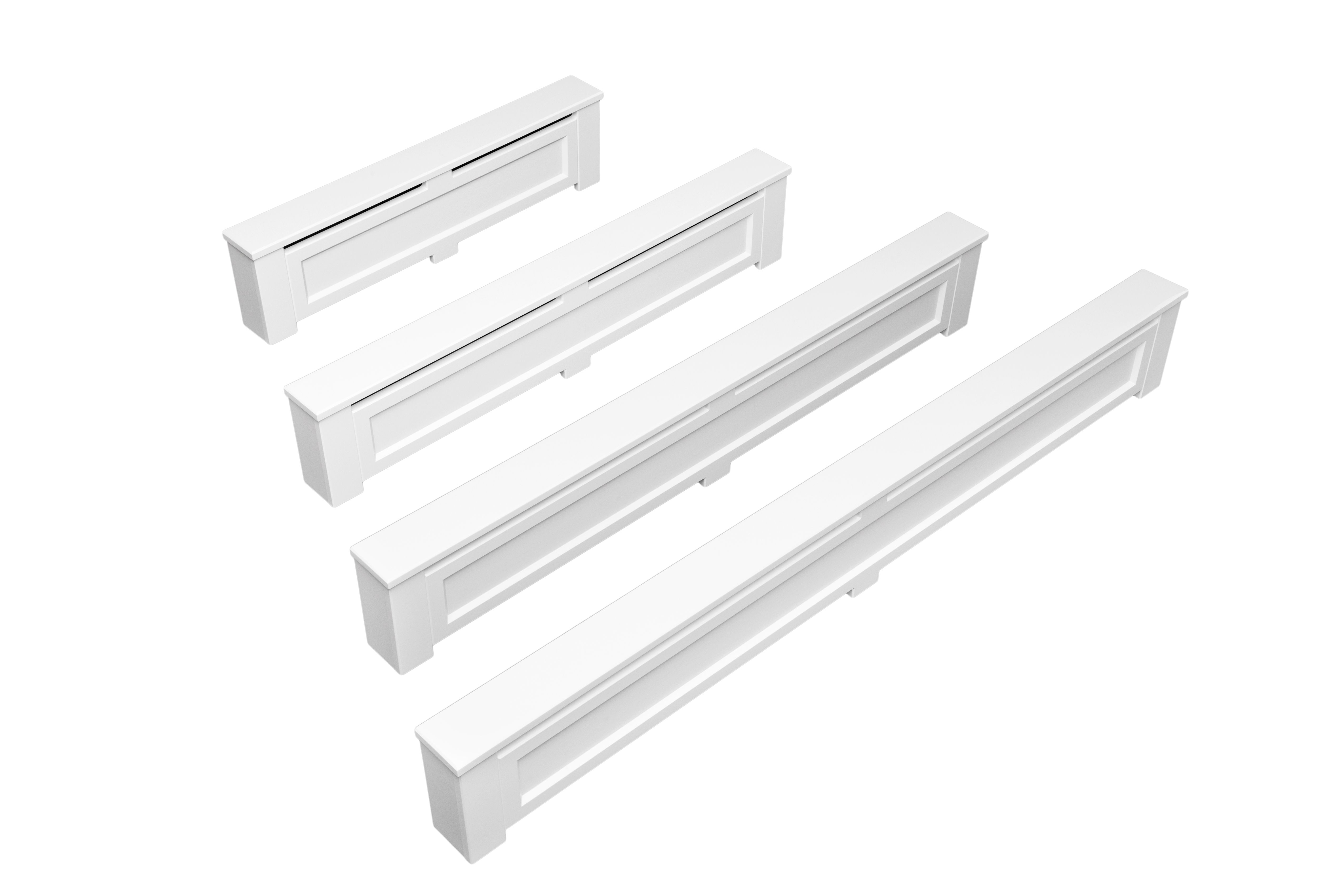 Wood Baseboard Replacement Covers Easily Slip Over Your