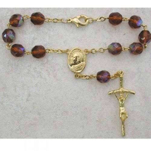 Brown Auto Rosary for Your Vehicle Car SUV or Truck. Protection While Driving. Hail Mary Gifts http://www.amazon.com/dp/B00BJP24IQ/ref=cm_sw_r_pi_dp_kviywb007J5Z8