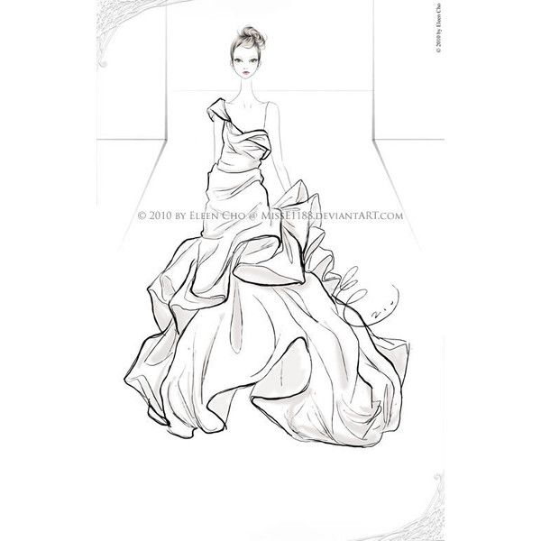 55 Inspiring Fashion Sketches Illustrations liked on ...