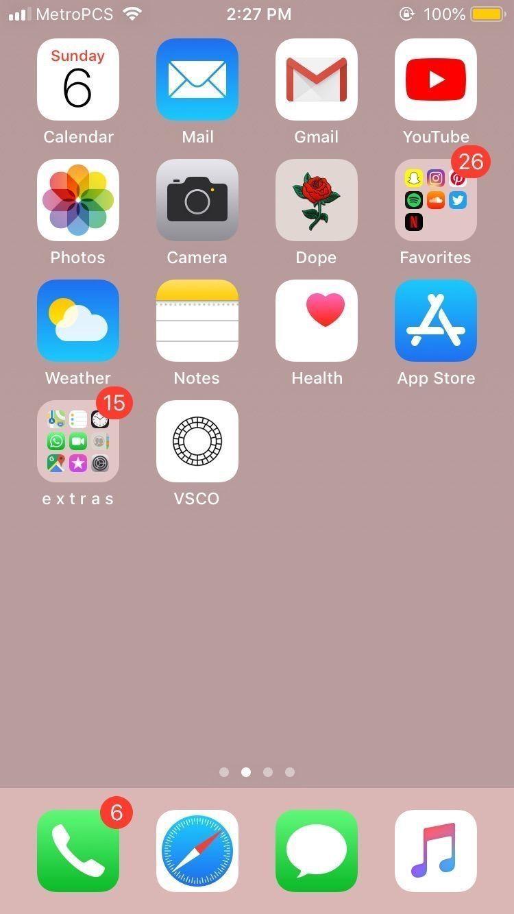 Phone Organization Discover