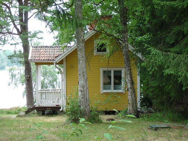 Lovely Another Swedish Cabin