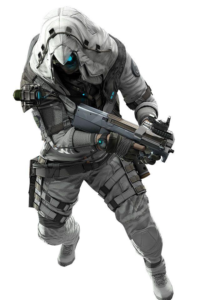 Modern Assassin Creed Concept Art Characters Assassin
