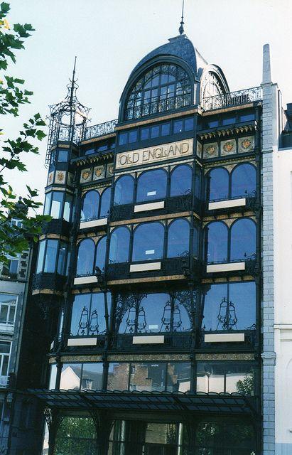 Restaurant du musée des instruments de musique ancien magasin old england et waucquez