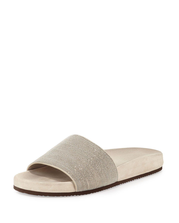 8f2ba7a731f5c7 Monili One-Band Flat Sandal Slide