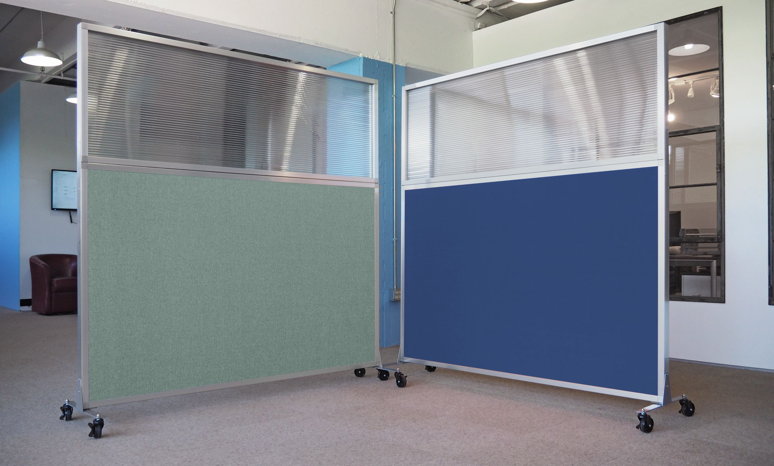 An Ideal Privacy Screen For Shared Office Cubicles Work Stations