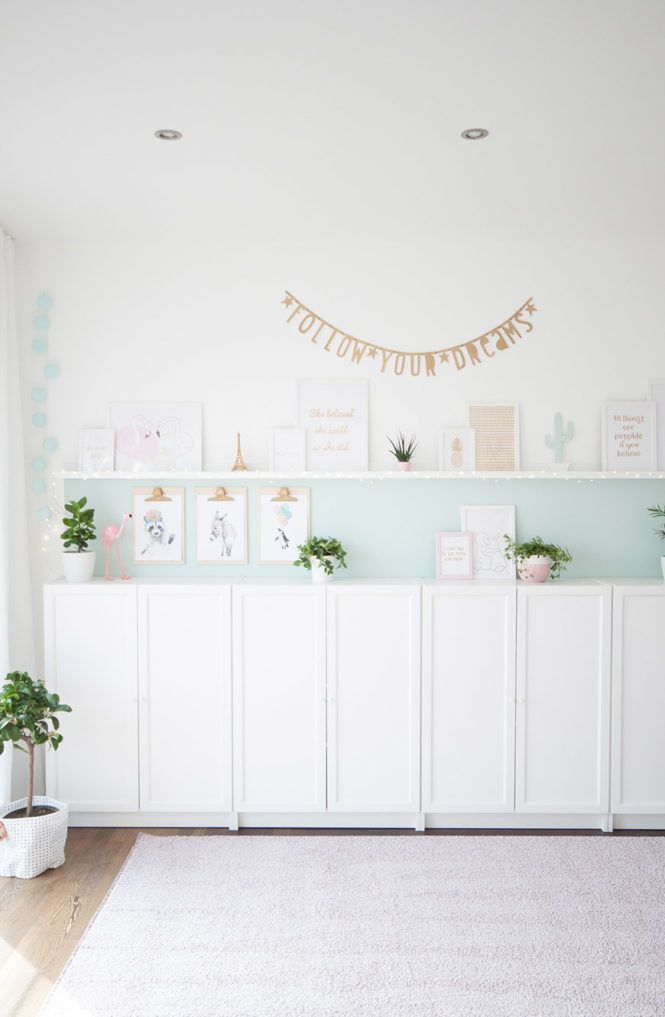 Kinderzimmer In Mint Gold Soul Follows Design Spielzimmer Kinder Zimmer Kinderzimmer