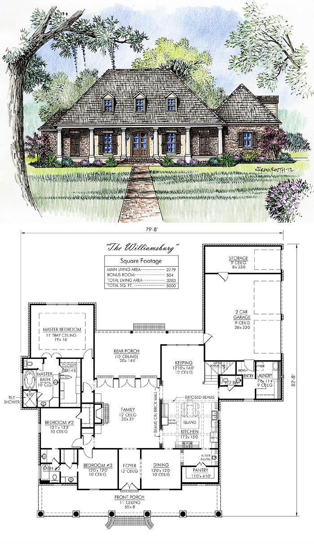 Madden Home Design The Williamsburg Love It Dream House Plans House Design House Plans