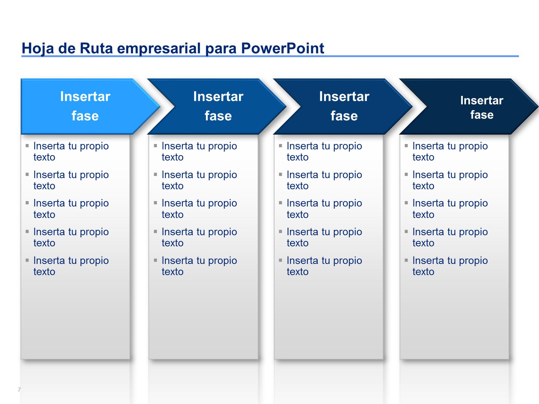 Plantillas de Hoja de Ruta Empresarial | Plantilla de hoja, Rutas y ...