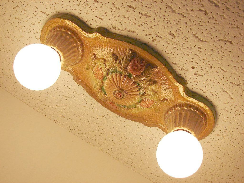 Close To Ceiling Light Engaging Vintage Flush Mount