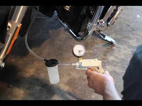 How To Bleed Brake Lines On A Harley With Abs Motorcycle Safety Abs Motorcycle Garage